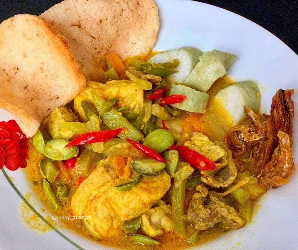 Resep Lontong Sayur Instagram Di 2020 Resep Resep Masakan Indonesia Resep Masakan