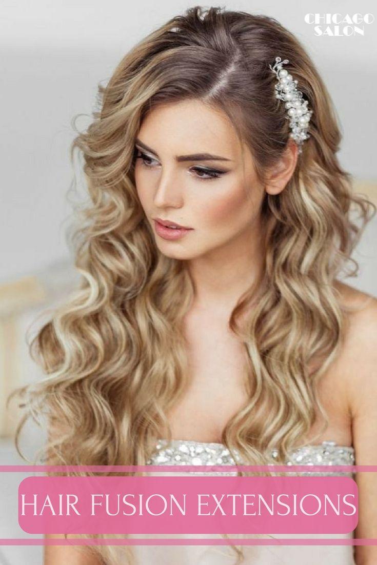 Hair Fusion Extensions Wedding Hair And Makeup Wedding Hair