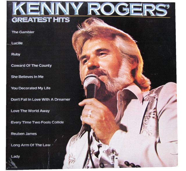 Kenny Rogers Greatest Hits Coward Of The County Greatest Hits Vinyl Record Album