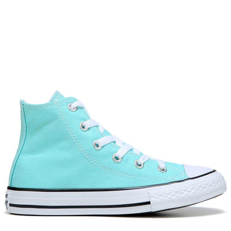 4abb0b07252d89 Converse Kids  Chuck Taylor All Star High Top Sneakers (Aqua)