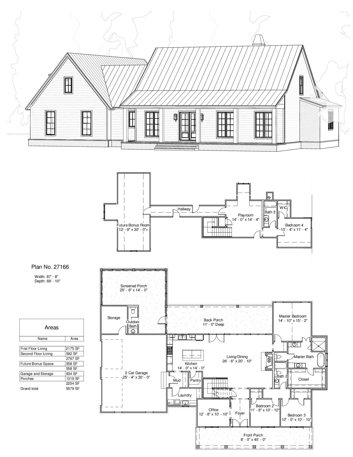 Plan 27166 Design Studio Back Screened Porch Left Converted To Workshop Move Laundry To Be Ranch House Plans Farmhouse Style House Plans New House Plans
