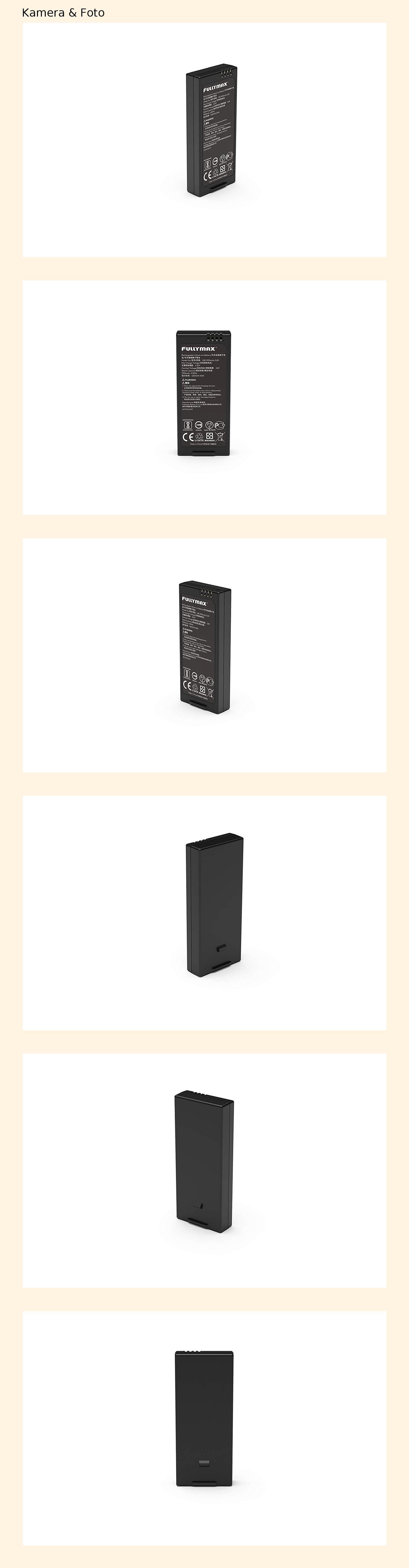 1100 mAh Ryze DJI Tello Batterie für Mini-Drohne mit Micro-USB-Anschluss