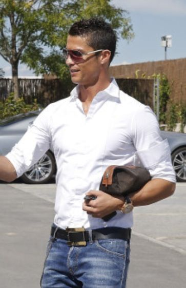 Christiano Ronaldo Outfit From Top To Bottom Crome