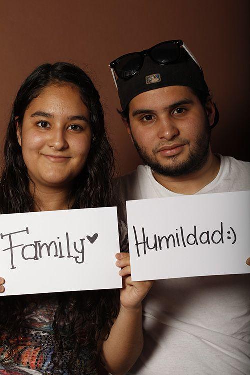 Humility, Alejandro Cantú, Estudiante, UANL, Guadalupe, México. Family, Izahmar Cantú, Estudiante, UANL, Guadalupe, México