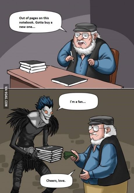 oh yes #gameofthrones #deathnote