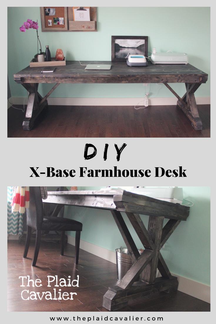 XBase Farmhouse Desk Farmhouse desk, Farmhouse style