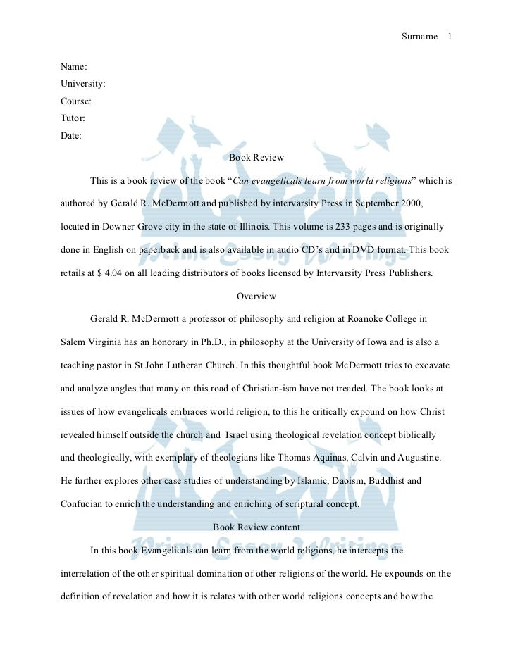Essay on writing academic book reviews