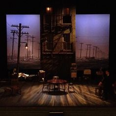 A View From The Bridge UK Tour Scenic Design By Liz Ascroft