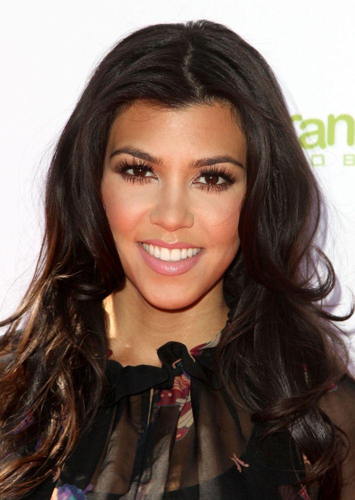 Blow out envy makeup and hair love   Kourtney kardashian ...