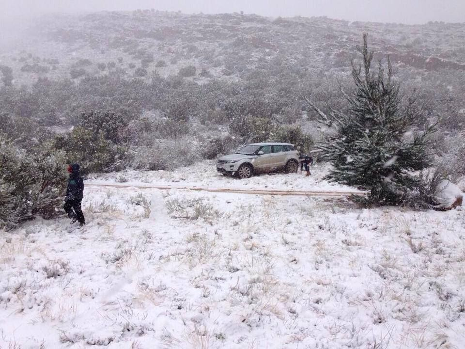 Shawn Jooste's Matroosberg snow day!
