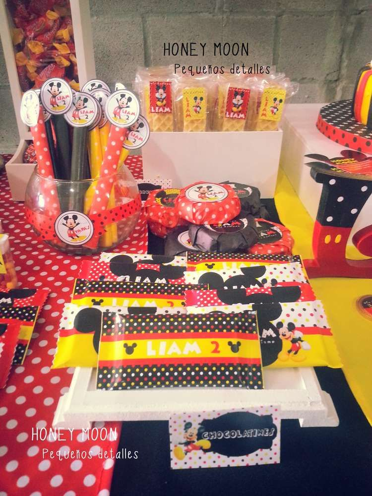 Mickey Mouse Birthday Party Ideas Mickey mouse birthday, Mickey - mickey mouse boy birthday party ideas