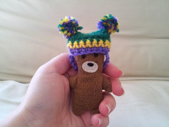 Mardi Gras Party Super Tiny Pet Hat - green purple and ...