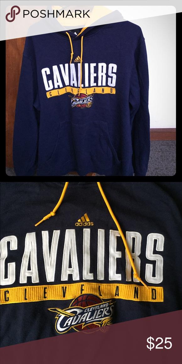 Mancha Satisfacer novia  ADIDAS CLEVELAND CAVALIERS HOODIE LARGE Cleveland Cavaliers hoodie ...