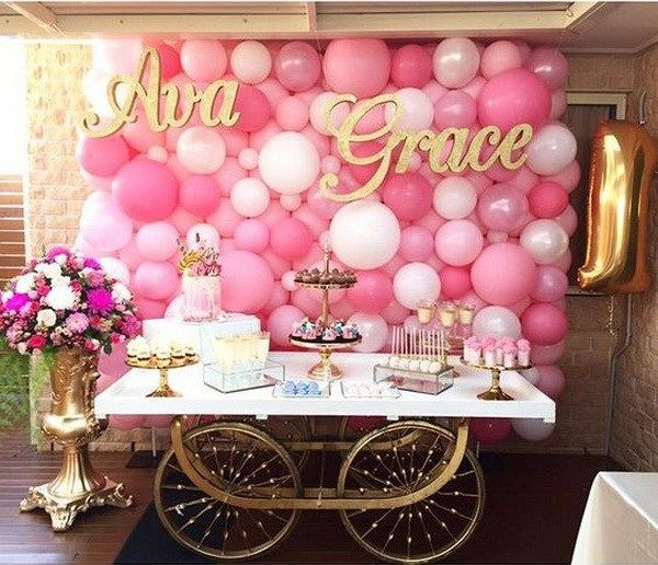 50 Pretty Balloon Decoration Ideas Balloon backdrop Decoration