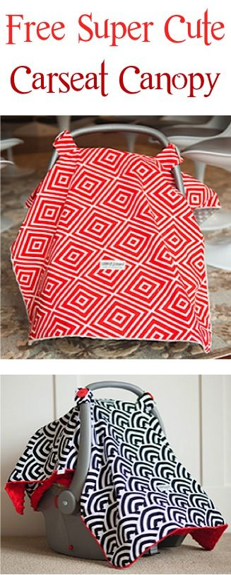 FREE Super Cute Carseat Canopy Cover! {just pay s h} - these make
