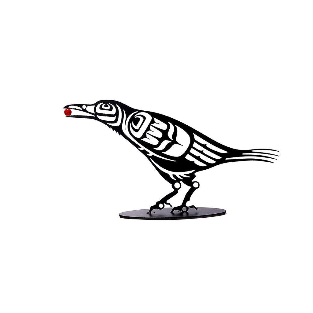 Minimalist Raven Tattoo: Haida Art, Crow Art, Raven Art