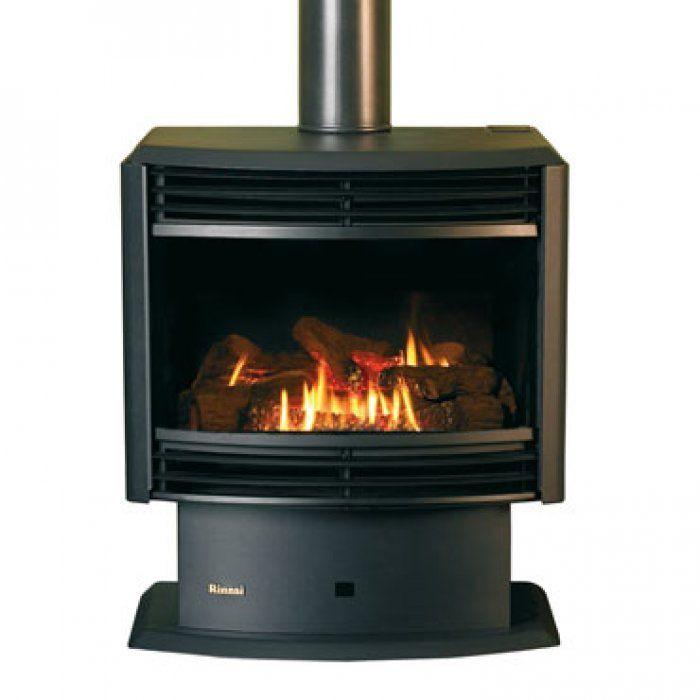 Rinnai Royale Etr Freestanding Gas Log Fires Heatworks