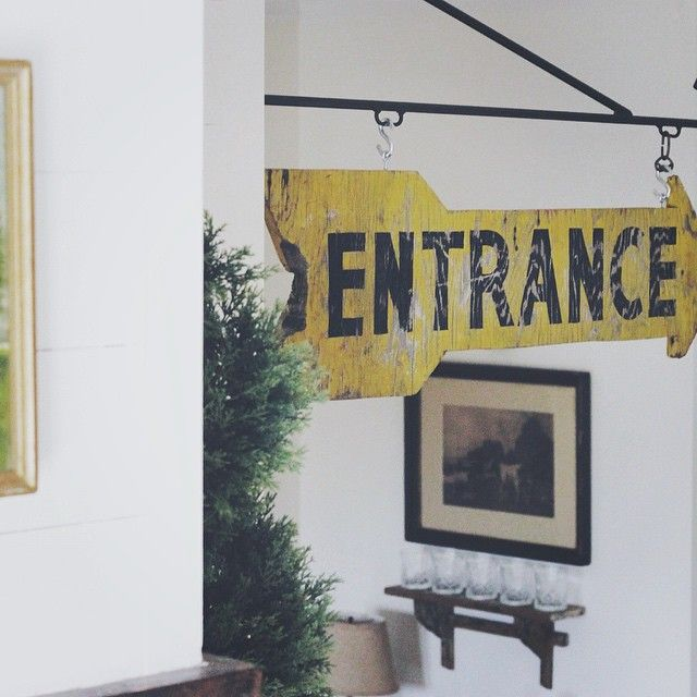 This entrance sign via (at) c.1934 on Instagram... \