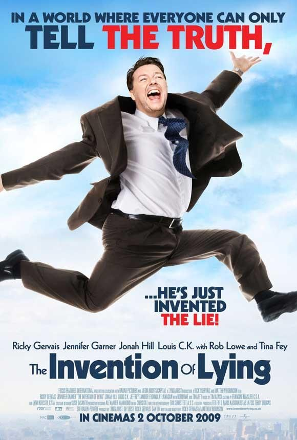 The Invention Of Lying Uk 27x40 Movie Poster 2009 The