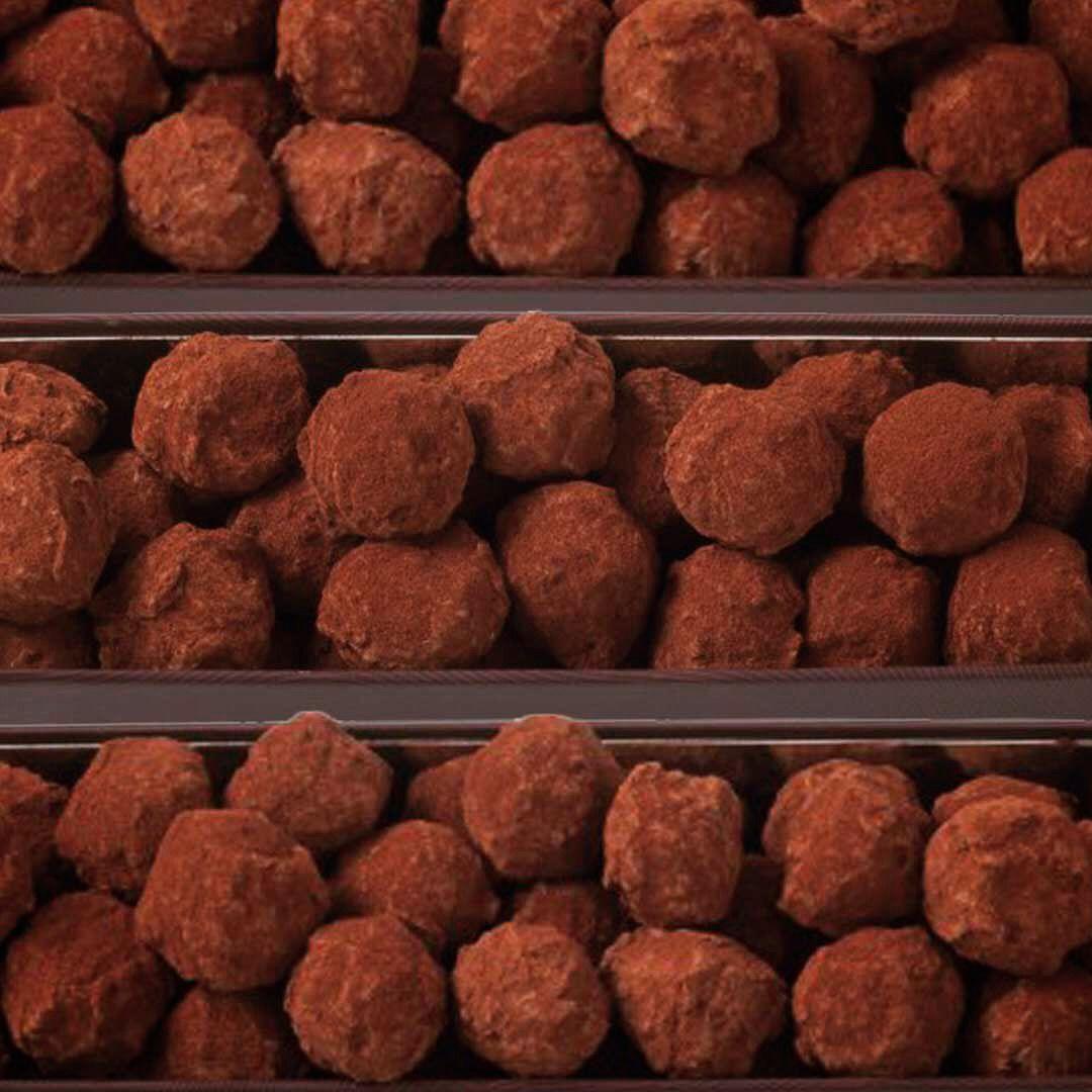 Pascal le Gac - Truffes Chocolat Noir #truffesauchocolat