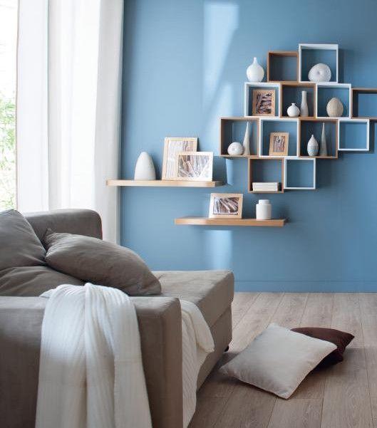 chambre deco scandinave bleu - Recherche Google | deco | Pinterest ...