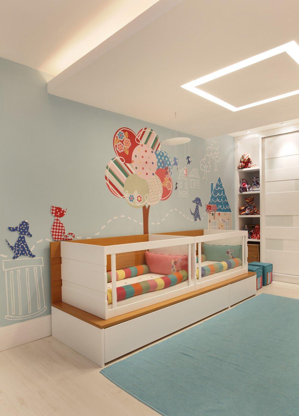 Decorar la habitaci n infantil algunas ideas para la decoraci n de las paredes ambientes - Decorar habitacion infantil ...