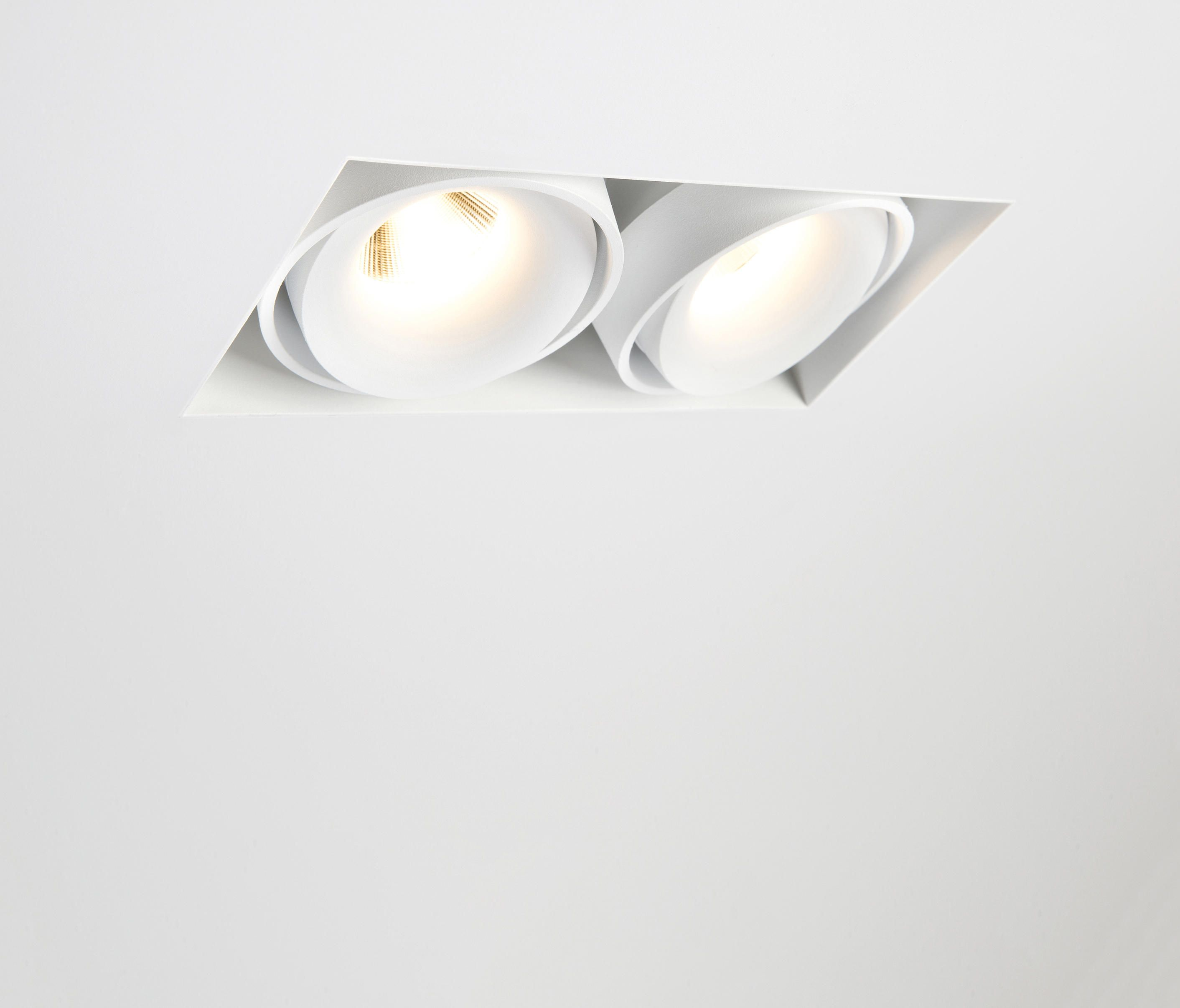 Mini Multiple Trimless For Smart Rings 2x Led Ge By Modular
