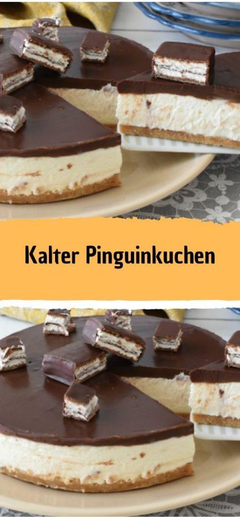 Photo of Kalter Pinguinkuchen – Gesunde Rezepte