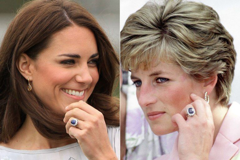 Princess Diana Kate Middleton Engagement Ring