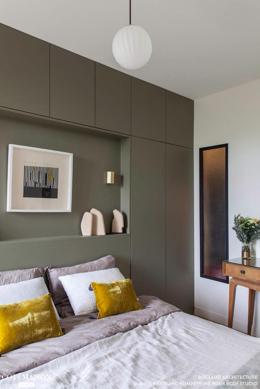 Un appartement tout en couleur!, Boclaud Architecture - Côté Maison #amenagementmaisonchambre