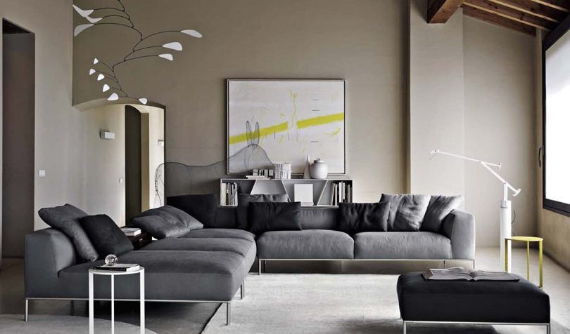 B Italia Living Room Sofa Modern Luxury Italian