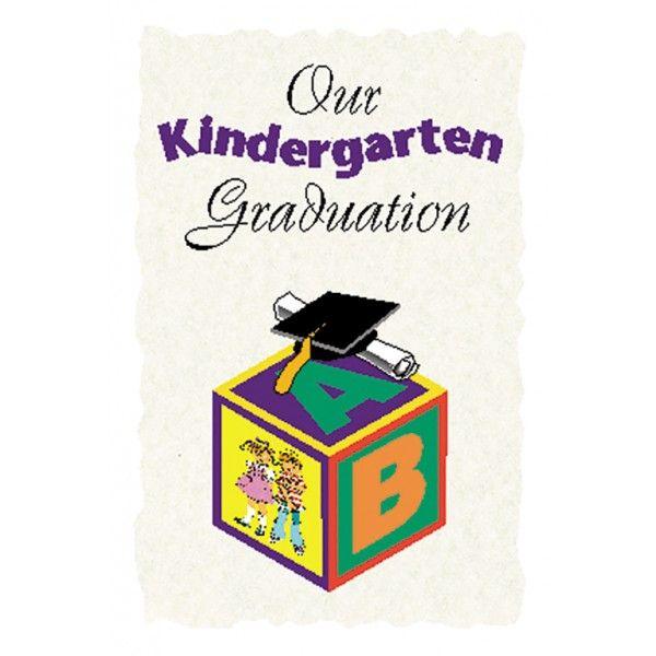 Kindergarten Program Cover Graduation Supplies Pinterest - graduation program