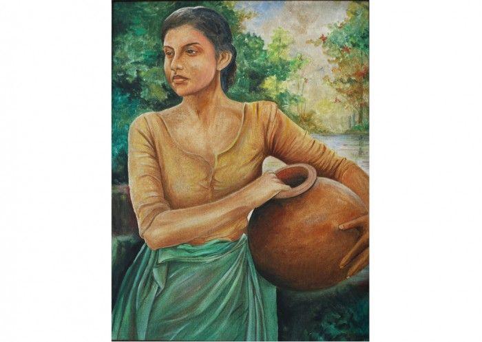 Sri Lankan Art Portrait Arts In Sri Lanka At Sri Lankan Art