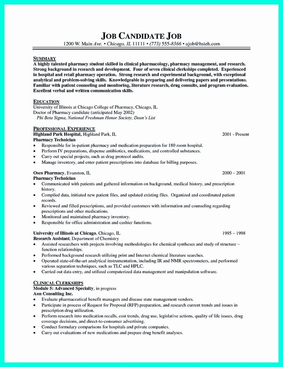 Pharmacy technician resume objective new what objectives