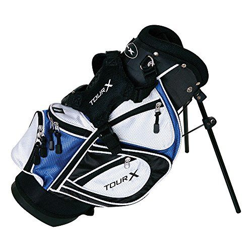 Best Golf Bags Merchants Of Tour X 3piece Junior Complete Set With Stand Bag Left Hand Graphite Regular Be Sure To Check Out This Awesome