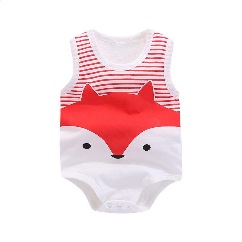 Babyspielanzug neugeborene Baumwolle sleeveless Weste Babykleidung ...