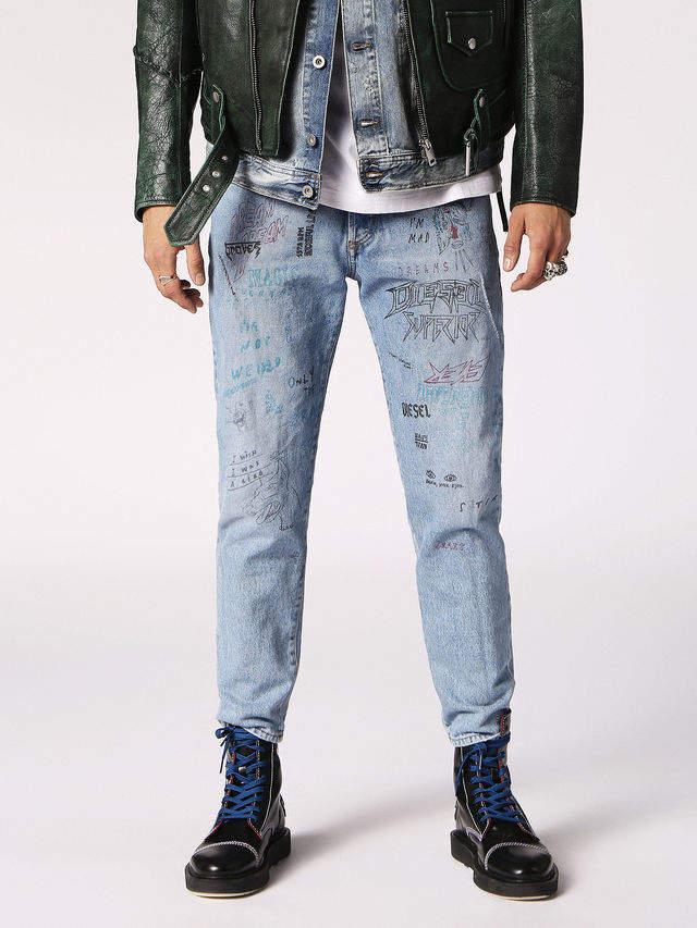 908cdbb2 Diesel MHARKY Jeans 0076K - Blue - 28 | Products | Jeans, Denim ...