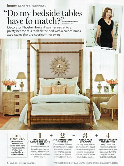 Phoebe Howards Guide To Picking And Styling Your Bedside Tables