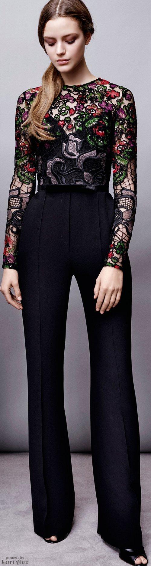 elie saab prefall 2015 fashion show macaco estilo e