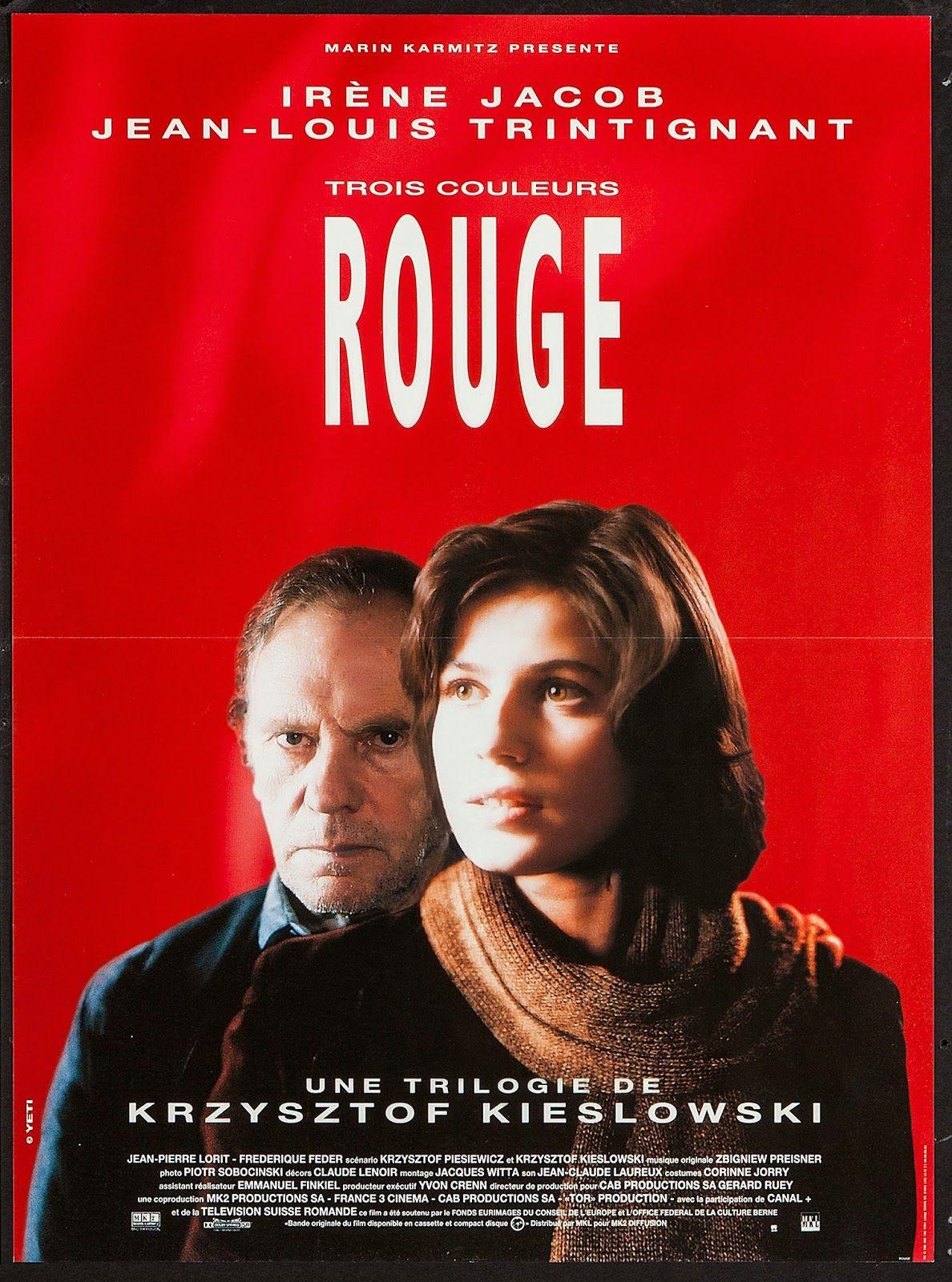 Trois Couleurs Rouge Aka Three Colors Red Dir Krzysztof Kieslowski 1994 Julie Delpy Trois Couleurs Films Complets