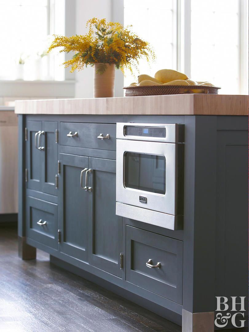 As upper cabinets disappear and walls open up, appliances ...