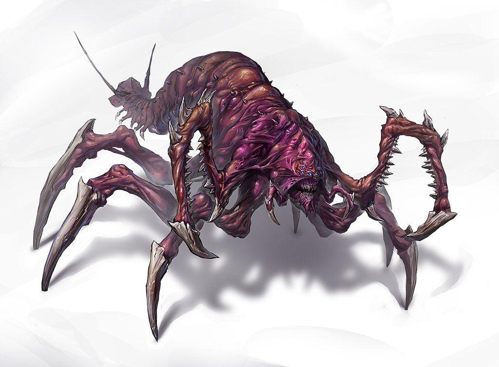 Concept Art Insectoid Alien