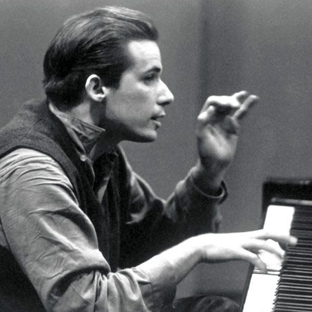 Glenn Gould. He played Bach hunched over, limp-wristed, humming all the while the tape was recording him. He broke all the rules, but he was like a vessel transmitting the light of god through his fingertips.