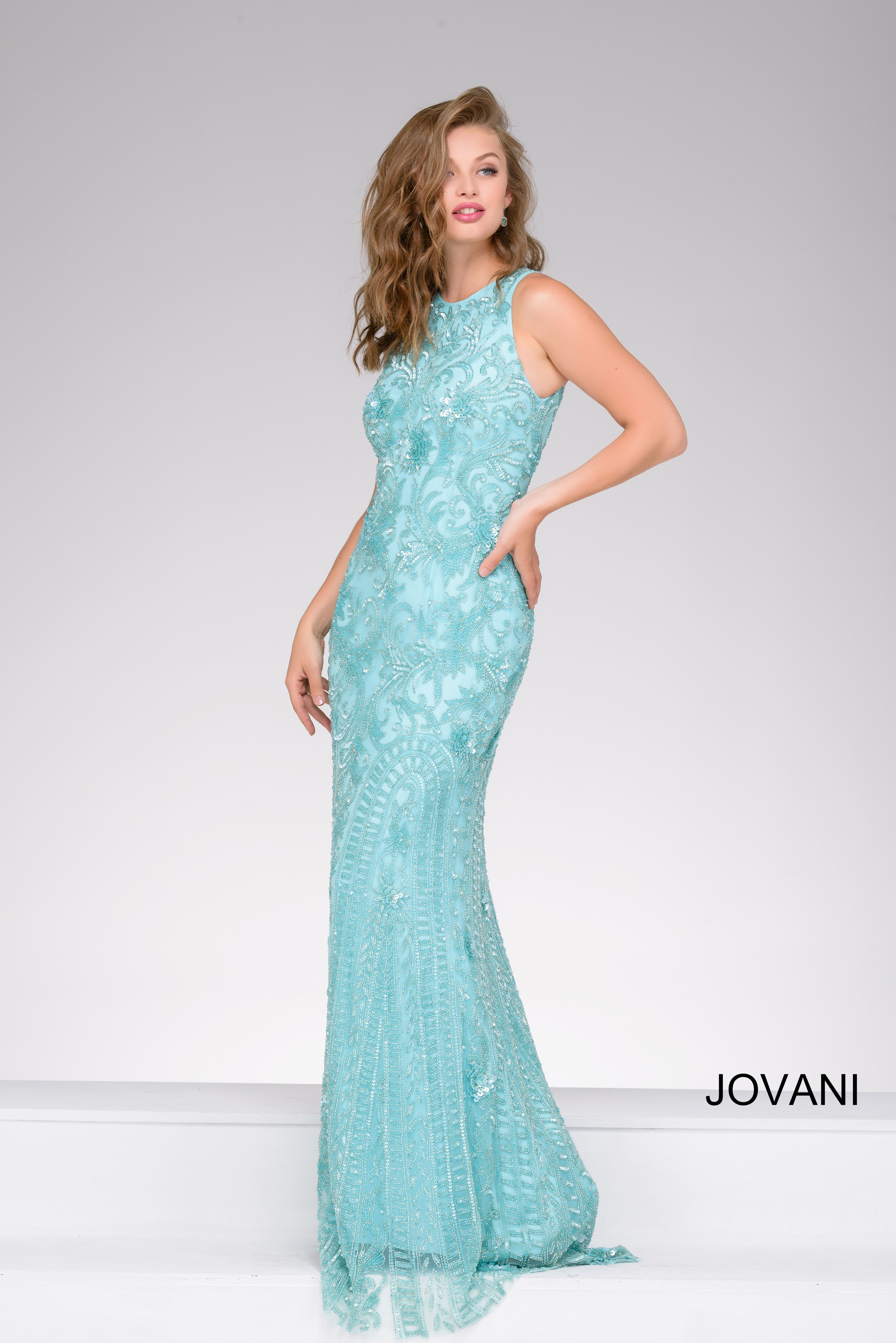 Look aquamazing in Jovani style 40728 available at WhatchamaCallit ...
