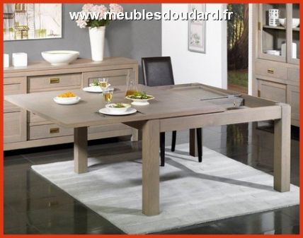 Table Carree 8 Personnes Avec Rallonge Lepetitsiam For Table Salle