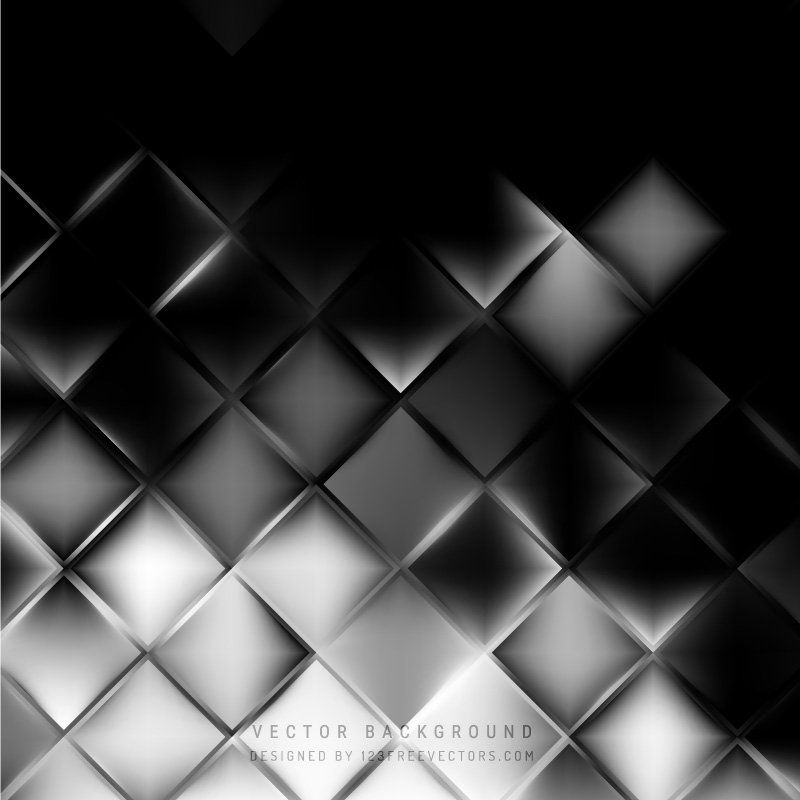 Black And Gray Square Background Template In 2020 Background