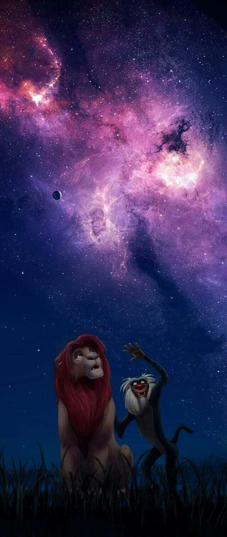 Rafiki & Simba The Lion King Fond d'écran téléphone