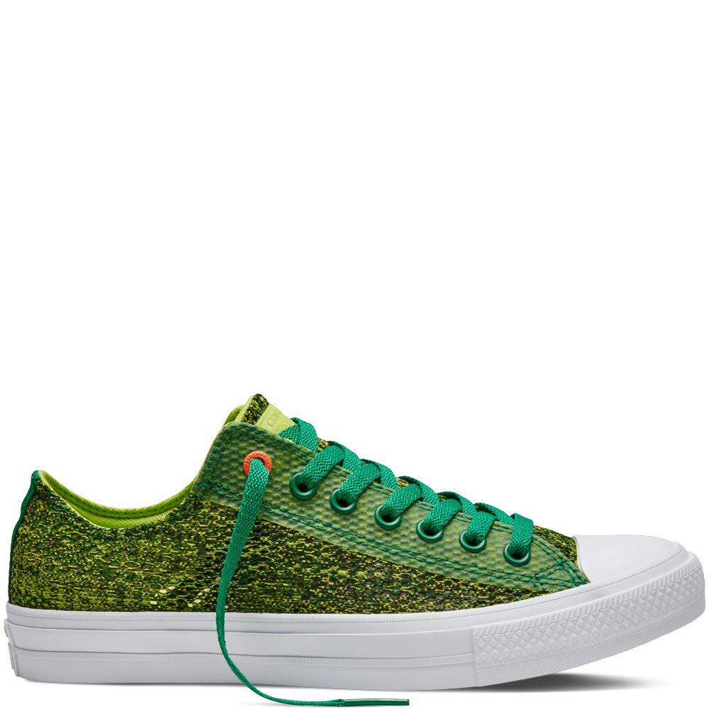 Chuck Ii Open Knit Amazon Green Amazon Green Chuck Ii Converse Sneaker Golden Goose Sneaker