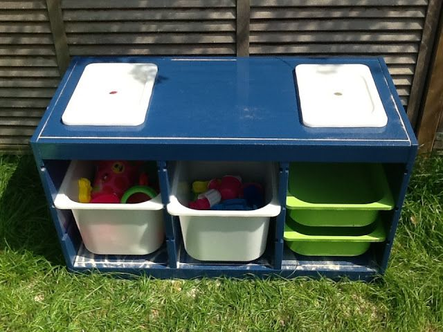 Trofast sand and water table ikea hackers clever ideas and hacks for your i - Ikea table exterieur ...