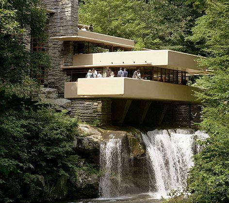 Frank Lloyd Wright S Falling Water House Yes It Does